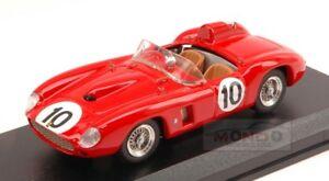 【送料無料】模型車 スポーツカー フェラーリ#バージニアインターネットファクチュアルアートタイプferrari 290 mm 10 4th virginia internat raceway 1957 j kilborn 143 type art220