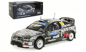 【送料無料】模型車 スポーツカー ネットワークフォードフォーカスフィンランドラリースケールixo ram391 ford focus rs wrc 08 finland rally 2009 m rantanen 143 scale