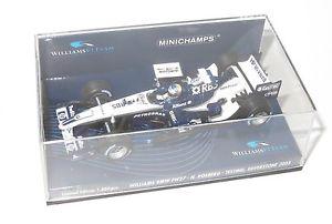 【送料無料】模型車 スポーツカー 143ウィリアムズbmw fw27 nrosbergシルバーストーンテスト2005143 williams bmw fw27 nrosberg silverstone test 2005