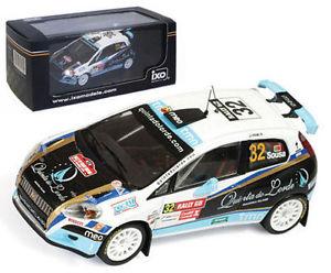 【送料無料】模型車 スポーツカー ネットワークフィアットグランデプントウェールズラリースーザスケールixo ram403 fiat grande punto s2000 wales gb rally 2009 b sousa 143 scale