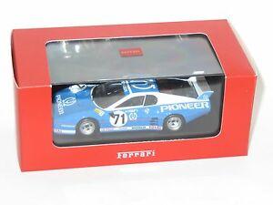 【送料無料】模型車 スポーツカー フェラーリパイオニアフェラーリフランスルマン#143 ferrari bb512 pioneer ferrari france le mans 24 hrs 1982 71