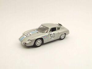 【送料無料】模型車 スポーツカー ポルシェカレラアバルトレース#ベストモデルporsche carrera abarth audusta gt race 1964 c cassel 50 best 143 be9458 model