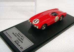 【送料無料 scala】模型車 スポーツカー オリジナルミニアチュアスカラルマンoriginal top miniatures 143 built by scala mt 43osca mt 4 24h le mans 1954 top, 南郷村:5ba15c7c --- sunward.msk.ru