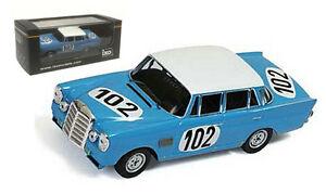 【送料無料】模型車 スポーツカー ネットワークメルセデスベンツ#スパスケールixo gtm086 mercedesbenz 300se 102 w111 winner 24h spa 1964 143 scale
