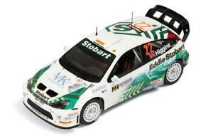 【送料無料】模型車 スポーツカー フォードフォーカスストバート#ラリーイタリアサルデーニャヒギンズ143 ford focus wrc stobart 22  rally italy sardinia 2005 mhiggins