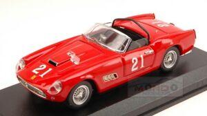 【送料無料】模型車 スポーツカー フェラーリカリフォルニア#ナッソートロフィーアートタイプferrari 250 california 21 14th nassau trophy 1960 w von trips 143 type art234 m