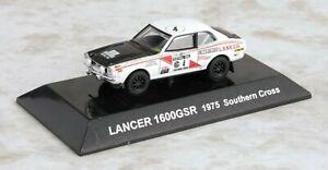 【送料無料】模型車 スポーツカー ラリーカーランサーサザンクロス 164 cms rally car ss17 mitsubishi lancer 1600gsr 1975 southern cross