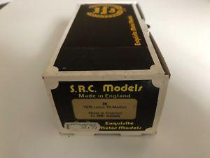 【送料無料】模型車 スポーツカー モデルキット#ロータスマティーニsrc models 143 kit 28 1979 f1 lotus 79 martini