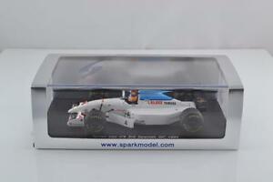 【送料無料】模型車 スポーツカー spark s1597 tyrrell 022f1 car mark blundell spanishgp 1994143 mib sealedspark s1597 tyrrell 022 f1 car mark blundell spani