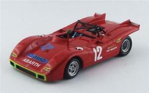 【送料無料】模型車 スポーツカー アバルトタルガフローリオ#ベストモデルabarth sp 2000 targa florio 1971 taramazzoostini 12 best 143 be9540 model
