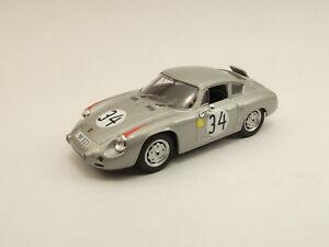 【送料無料】模型車 スポーツカー ポルシェabarthルマン196234143 be9381モデルカーダイカストporsche abarth le mans 1962 34 best 143 be9381 model car diecast