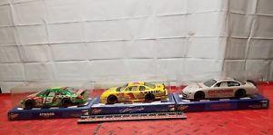 【送料無料】模型車 スポーツカー ナスカースケールコレクターlot of 3 nascar winners circle 124 scale collector cars