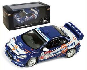 【送料無料】模型車 スポーツカー ネットワークプジョーラリーヘンリースケールixo ram292 peugeot 307 wrc winner rally cevennes 2007 p henry 143 scale