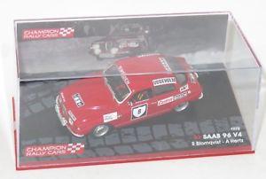 【送料無料】模型車 スポーツカー サーブスウェーデンラリー#ヘルツ143 saab 96 v4 swedish rally 1972 8 stig blomqvist ahertz