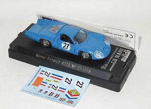 【送料無料】模型車 スポーツカー ルノーアルパインルマン#ビアンキ143 renault alpine a220 le mans 24hrs 1968 27 bianchidepailler