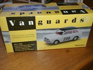 【送料無料】模型車 スポーツカー スケールオースティンファリーナゾーイモンテカルロラリーvanguards 143 scale va11200 austin a40 farina mk1 zoe 1959 monte carlo rally