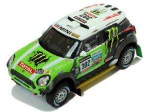 【送料無料】模型車 スポーツカー ミニクーパーレースラリーダカールネットワークラムmini cooper countryman s all4 racing winner rally dakar 2013 ixo 143 ram574 mod