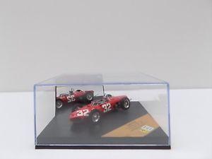 【送料無料】模型車 スポーツカー フェラーリディノイタリアミントquartzo q4155 ferrari dino 156 italian gp 1961 giancarlo baghetti mint boxed