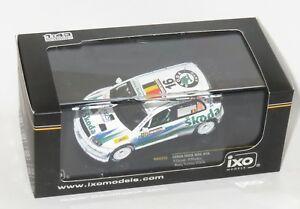 【送料無料】模型車 スポーツカー 143スコーダfabia wrcトルコ2006fduval143 skoda fabia wrc  rally turkey 2006  fduval
