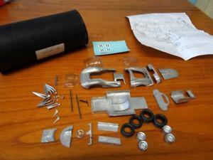 【送料無料】模型車 スポーツカー フェラーリチャーリーホワイトメタルキットferrari 412p by charlies car white metal kit 143