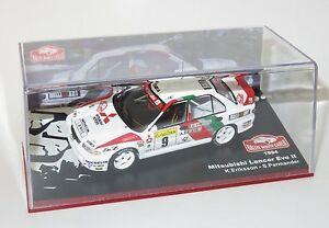 【送料無料】模型車 スポーツカー ランサーエボラリーアートラリーモンテカルロ143 mitsubishi lancer evo ii ralliart rally monte carlo 1994 keriksson