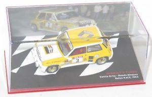 【送料無料】模型車 スポーツカー 143ルノー5ターボラリーrace1983gortiz143 renault 5 turbo rallye race 1983  gortiz