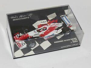 【送料無料】模型車 スポーツカー 143パナソニックトヨタtf1042004 jtrulli143 panasonic toyota racing tf104  season 2004  jtrulli