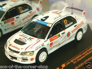 【送料無料】模型車 スポーツカー ランサーエボリューション#ラリーデポルトガルvitesse 143 mitsubishi lancer evo evolution ix 17 irc rally de portugal 2008