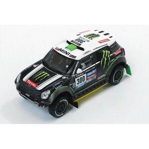【送料無料】模型車 スポーツカー ミニクーパーレーシング#ラリーダカールネットワークラムmini cooper countryman s all4 racing 300 2nd rally dakar 2014 ixo 143 ram577p