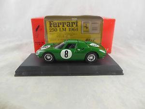 【送料無料】模型車 スポーツカー 8nurburbring1965モデル9054 250フェラーリlmbest model 9054 ferrari 250 lm in green 1965 nurburbring racing no 8