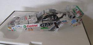 【送料無料】模型車 スポーツカー アクションジョンフォースエルヴィスムスタングクリアaction john force castrol gtx elvis 25th clear 2002 mustang 124 funny car ~ nib