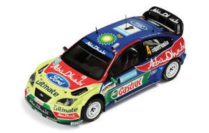 【送料無料】模型車 スポーツカー フォードフォーカスアブダビラリースウェーデン143 ford focus rs07 abu dhabi wrc winner rally sweden 2008 jmlatvala