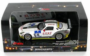 【送料無料】模型車 スポーツカー メルセデスロウ#ニュルブルクリンクmercedes sls amg rowe 46 adac 24hrs nurburgring 2011 143