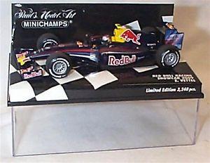【送料無料】模型車 スポーツカー レッドブルレーシングベッテルズエドケースred bull racing showcar 2009 svettel ltd ed in case