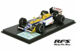 【送料無料】模型車 スポーツカー ウィリアムズジャッドモナコwilliams fw12 juddpatreseformula 1 gp monaco 1988 143