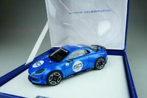 【送料無料】模型車 スポーツカー アルプス143アルプスa602015モデルhandlerbox108789alpine 143 spark alpine a60 celebration 2015 blue resin model hndlerbox 108789