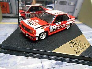 【送料無料】模型車 スポーツカー listingopelアスコナb 400モンテカルロ1982バストスcolsoul10 vitesse rar 143 listingopel ascona b 400 rally monte carlo 1982 bastos colsoul