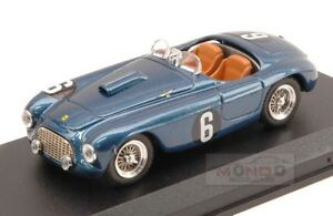 【送料無料】模型車 スポーツカー フェラーリクモ#マンサアートモデルアートメートルferrari 166 mm spider 6 gp portogallo 1954 apale mansa 143 art model art102 m