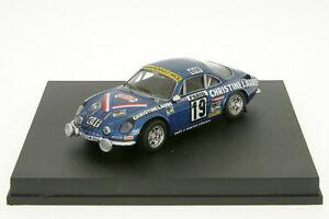 【送料無料】模型車 スポーツカー ルノーアルパインムートンラリーモンテカルロ143 tr0816 renault alpine a110 mouton rally monte 76