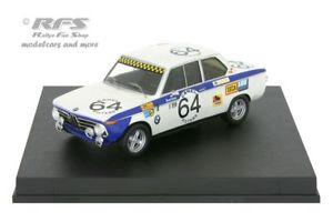 【送料無料】模型車 of スポーツカー スパレッグbmw 2002 ti 24 trofeu hours of 143 spa 1971leghen 143 trofeu 1728, 三加和町:4a53ff1a --- mail.ciencianet.com.ar