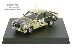 【送料無料】模型車 スポーツカー フォードエスコートエッソラリーモンテカルロford escort rs 2000 esso rally monte carlo 1980beauchef 143 trofeu 1805