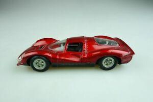 【送料無料】模型車 スポーツカー フェラーリルマンレーサーボックス574 politoys 143 ferrari p4 le mans racer candyredmetallic without box 508001