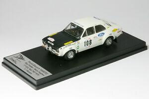 【送料無料】模型車 スポーツカー フォードエスコートポルトガル143 ford escort 1600 tc mk ifiddlerrally portugal 1970 trofeu rral 08