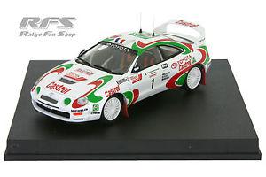 【送料無料】模型車 スポーツカー トヨタセリカグアテマラツールドコルスtoyota celica gtfourauriol rallye tour de corse 1995 143 tr 0707