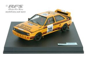 【送料無料 of】模型車 スポーツカー アウディクワトロピステラリードーソンaudi quattro a2 rally 1624 of 1000 rally pistes 1986dawson 143 trofeu 1624, 西山町:85863007 --- mail.ciencianet.com.ar