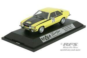 【送料無料】模型車 スポーツカー オペルコモドールヘッセンラリースカラopel commodore gsehessen rally 1975gnther 143 scala 43schuco