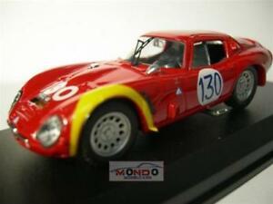 【送料無料】模型車 スポーツカー アルファロメオタルガフローリオベストモデルalfa romeo tz2 targa florio 1966 best 143 be9104 model