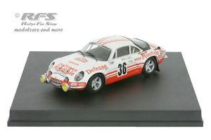 【送料無料】模型車 スポーツカー アルパインルノーモンテカルロラリーボブalpine renault a110 monte carlo rally 1973bob wollek 143 trofeu 0814