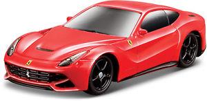 【送料無料】模型車 スポーツカー フェラーリスケールferrari f12 berlinetta red scale 164 by bburago