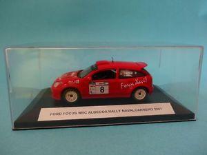 【送料無料】模型車 スポーツカー フォードフォーカス#ラリーネットワークford focus wrc 02 8 c aldecoanavalcarnero rally 2007 143 ixo transkit